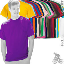 Fruit Of The Loom 61036 SS030 Mens Valueweight Printable Cotton T-Shirt 27 Cols