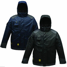 Regatta Jacket Mens Padded Isotex Hardwear Density Generator Steel Rockstone New