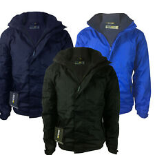 Regatta Dover Jacket Mens Waterproof Fleece Lined Hooded Full Zip Hydrafort New