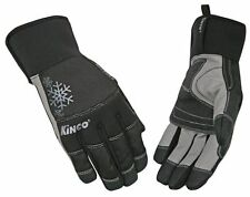 Kinco Pro Womens LINED WINTER SKI GLOVES 2060W Black Waterproof Insulated NWT
