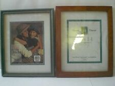 """Solid Wood Picture Frame 11""""x14"""" Wall Mounting Home Decor Photos Rustic Brown"""