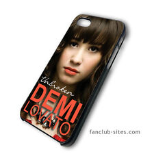 Demi Lovato Unbroken New Album iphone 4 4g 4s 5 & galaxy S3 S4 hard case cover