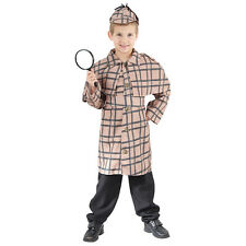 Sherlock Holmes Detective Spy Child Polyester Costume Ages 4-14