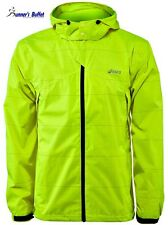 Asics Storm Shelter Men's Running Jacket (Waterproof) - Neon