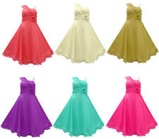 SALE Evening Dress With SCARF Wedding Bridesmaid Chiffon Prom Satin Party