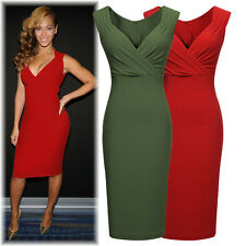 Ladies Sexy Dresses Lovely Clothing Womens Deep V Bodycon Evening Party Dress