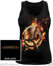 Official The Hunger Games Catching Fire  Mocking Jay   Vest T Shirt  855