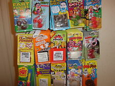 Classic Joke Tricks 40+ to choose from.All 1 price.Free p&p*.Fart/Cig/Poo/Sweets