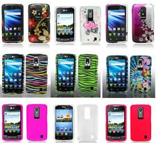 LG Nitro HD P930P (AT&T) - Faceplate Phone Cover DESIGN/COLOR Case