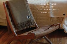 Art of Folding Handwoven 100% Cotton PREMIUM Yoga Blanket made in India