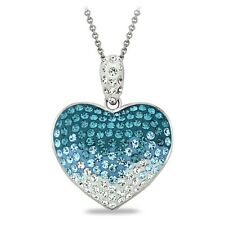 Swarovski Elements Heart Necklaces Available in 3 Colors
