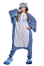 New Blue Owl Pyjamas Unisex Lovely Sleepwear Kigurumi Onesie Cosplay Dress