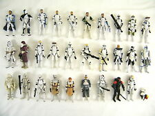 STAR WARS CLONE TROOPERS FIGURE SELECTION (C) - MANY TO CHOOSE FROM ALL VGC!