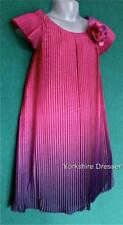 New MONSOON Girls Pink Purple Ombre Pleated GIOVANNA Party Dress 3 mths   5 yrs