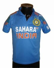 India Team Cricket Jersey 2014 Indian shirt / Jersey, IPL, ODI, T20 Shara, Star
