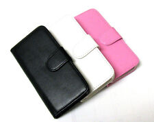 Credit Card ID Holder Leather Cover Flip Stand Wallet Case  For iPhone 5 5G 5S