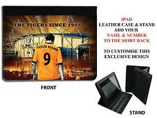PERSONALISED UNOFFICIAL HULL CITY IPAD PU LEATHER CASE