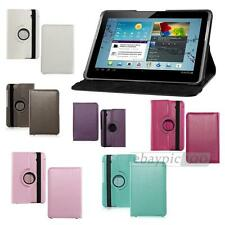 Folio Leather 360°Rotating Case Cover Skin for Samsung P3110 P3100 P3113