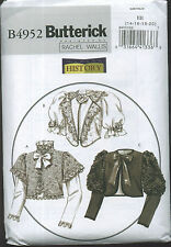 BUTTERICK 4952 Victorian Jacket Costume Sewing Pattern