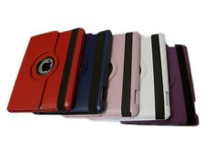 For iPad 2 360 Rotating Magnetic PU Leather Case Smart Cover Stand 5 Colors