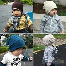 Unisex Baby Boys Girls Children Infant Toddler Beanie Hat Warm Winter Cap B27U