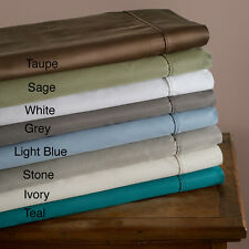 Ultra Soft 600 Thread Count Wrinkle Free Cotton Rich Bed Sheet Sets