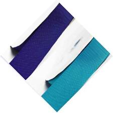 """By 5 Yards Grosgrain Ribbon 7/8"""" /22mm Wide ,Lot Blue s #352 to #374 for bow"""