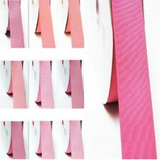 """Grosgrain Ribbon 2"""" (50mm) By the 5 Yards All Pink s to Choose for Gift Wrap"""