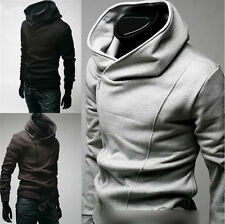 Hot Mens Fashion Slim Fit Sexy Top Designed Hoodies Jackets Coats 3 Color 5 Size