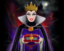 Evil Queen Disney Villain from Snow White Drawing Art