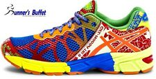 Asics Gel Noosa Tri 9 GS Boy's Running Shoes Royal/Flash Orange