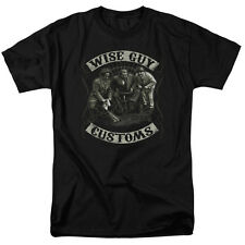 New Authentic Adult The Three Stooges Wise Guy Customs T Shirt Sizes S-3XL