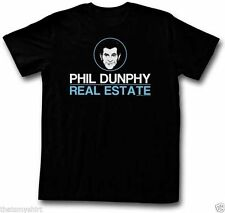 New Authentic Mens Modern Family Phil Dunphy Real Estate T Shirt Sizes S-2XL