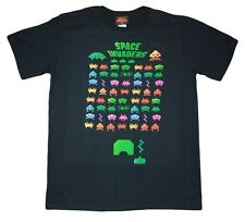 Space Invaders - Retro Design T Shirt - Featuring the popular 70's arcade game