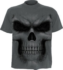 Spiral Direct shadow master t-shirt/top/tshirt, biker/tattoo/skull/goth/horror