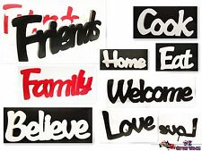 1pc Cute & Adorable Home Deco Wooden Word Decoration | Dream Love Home Relax