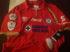 Umbro Cruz Azul 50 Years Limited Edition Jersey 50 Aniversario Champions League