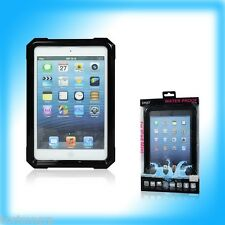 Waterproof Shock Dust proof  Protective Case Cover Skin for iPad Mini+Neck Strap