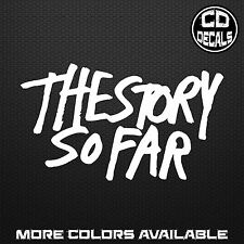 The Story So Far TSSF Band Merch Logo Sticker Car Laptop Vinyl Decal Pop Punk