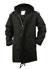Black Military M-51 Fishtail Parka Jacket rothco 9464