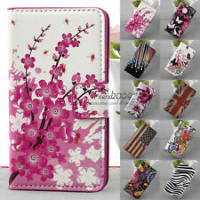 New Folding Wallet  Hold Stand Flip Leather Phone Case  For HUAWEI ASCEND Y300