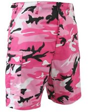 shorts camo bright pink cargo bdu military style camouflage mens rothco 65420