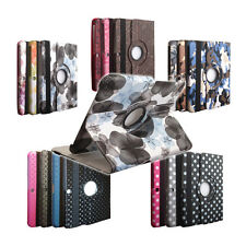 "For Samsung Galaxy Tab 3 10.1"" Leather Case Pattern Swivel 360 Rotation Cover"