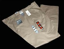 DOCKERS BIG & TALL Khaki Tan Mens Casual Pleated Pants Iron Free NWT MSRP $65
