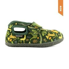 BOGS BABY GREEN VELCRO ZOO CANVAS SHOE