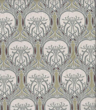 Tan Liberty style lawn cotton Art Nouveau print | 145cm wide | Dressmaking
