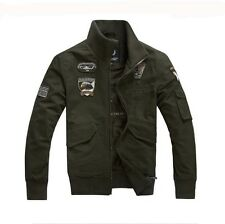 US air force 1 clothing Military uniform Cotton Jackets Army Autumn/Winter Coats