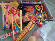 Born In The 70's - Retro Sweets Gift Box Dib Dab Fizz Wiz Birthday Present 40th