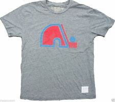 New Original Retro Brand NHL Quebec Nordiques Mens Tri Blend T-Shirt