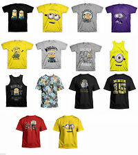 Despicable Me 2 Minion Adult T-Shirt Officially Licensed Dave, Carl, Evil Purple